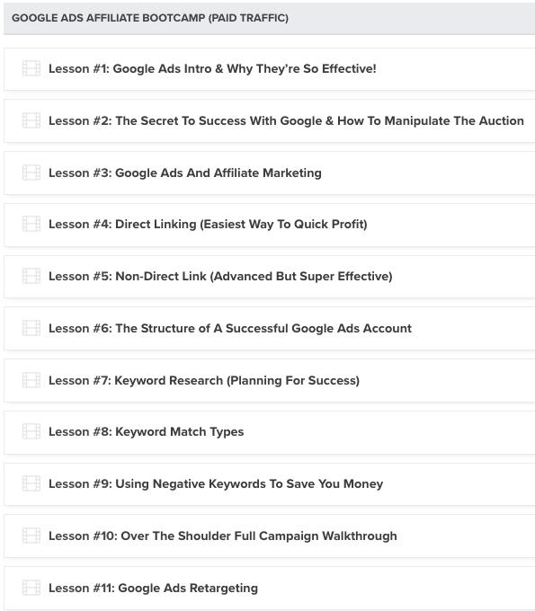 Liam James Kay  Google Ads Bootcamp 8